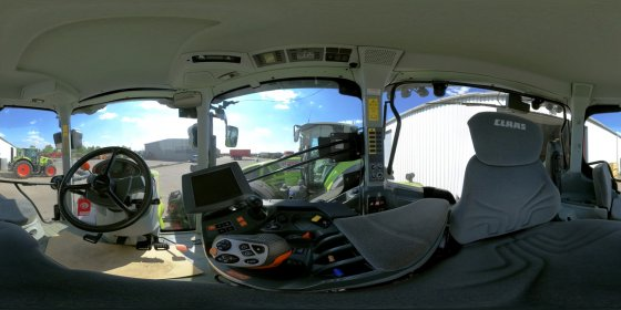 Play '360° - CLAAS AXION 810 CMATIC