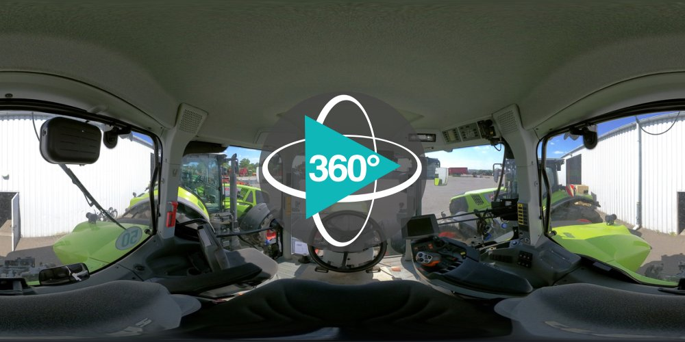 360° - CLAAS AXION 850 CMATIC