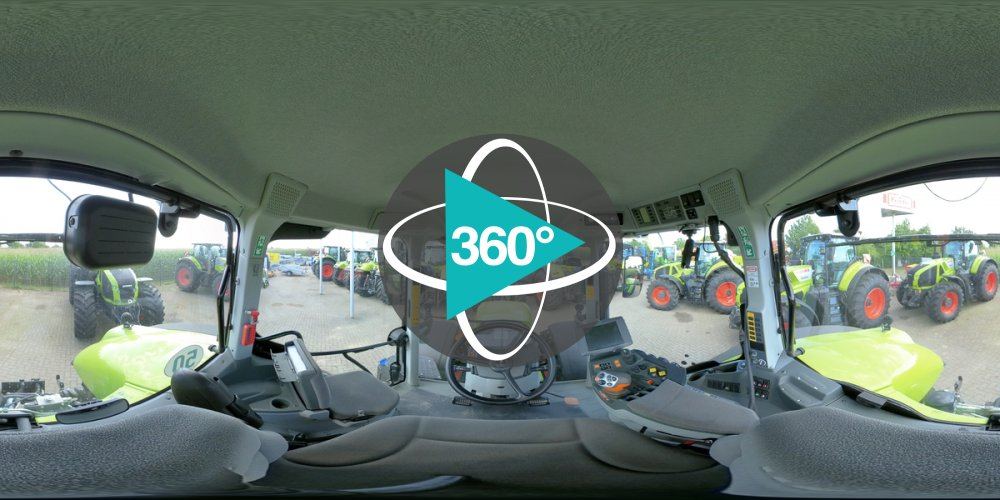 Play '360° - CLAAS AXION 870 CMATIC