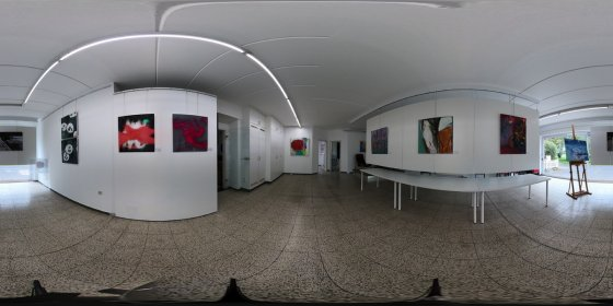 Play '360° - Kunstforum 99 Ausstellung 1