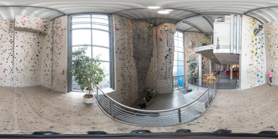 Play '360° - Kletterhalle Demo