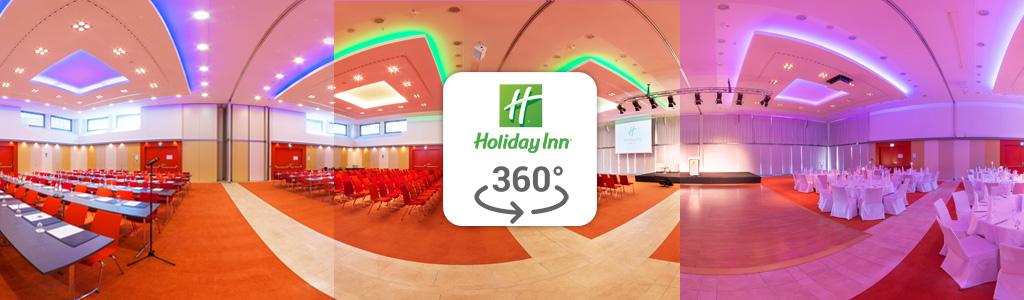 Vorschaubild eines 360° Fotos des Holiday Inn Hotels in Berlin Schönefeld fotografiert von Stefan Klenke