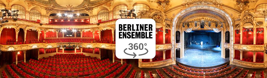Vorschaubild eines 360° Fotos des Berliner Ensemble (Theater am Schiffbauer Damm) fotografiert von Stefan Klenke