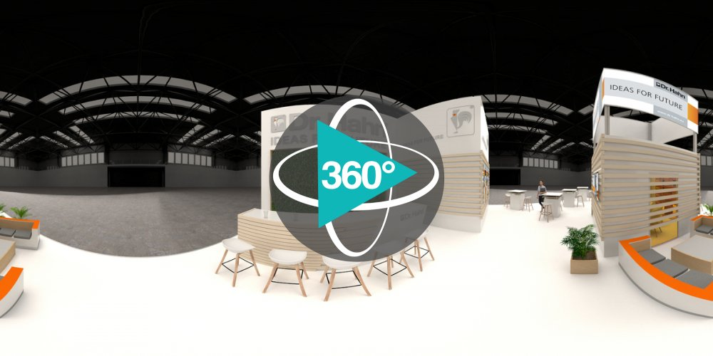 Play '360° - Dr. Hahn Messestand