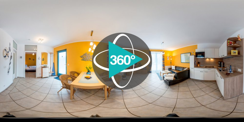 Play '360° - Ferienhaus 2 Raumwohnung