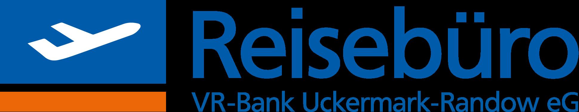 Logo des Reisebüros der VR-Bank Uckermark-Randow eG in Templin und Prenzlau